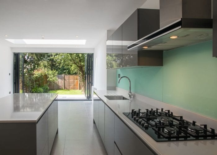 New kitchen with lots of space in South West London